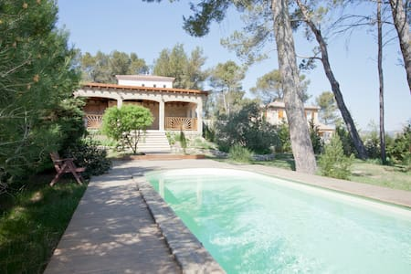 Villa près de St Remy de Provence - Barbentane - Rumah