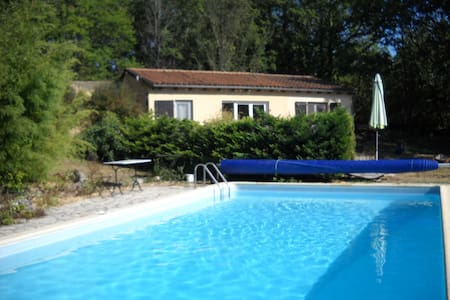 Le Petit Roc: nature, quiet comfort - Daglan - House