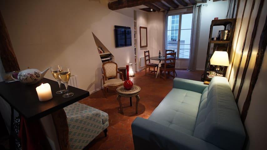 Lovely apartment Saint-Germain des près - París - Apartamento
