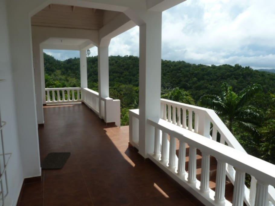 Great verandas, great views
