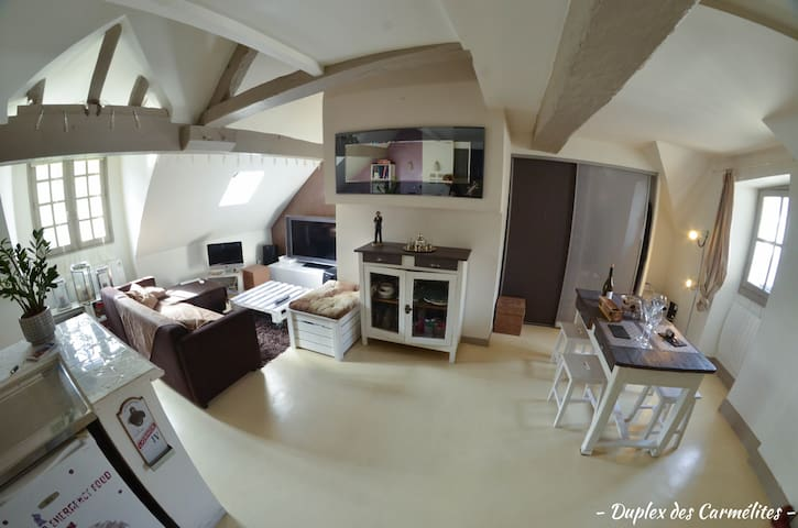 Charming Duplex in the ♥ of Nantes