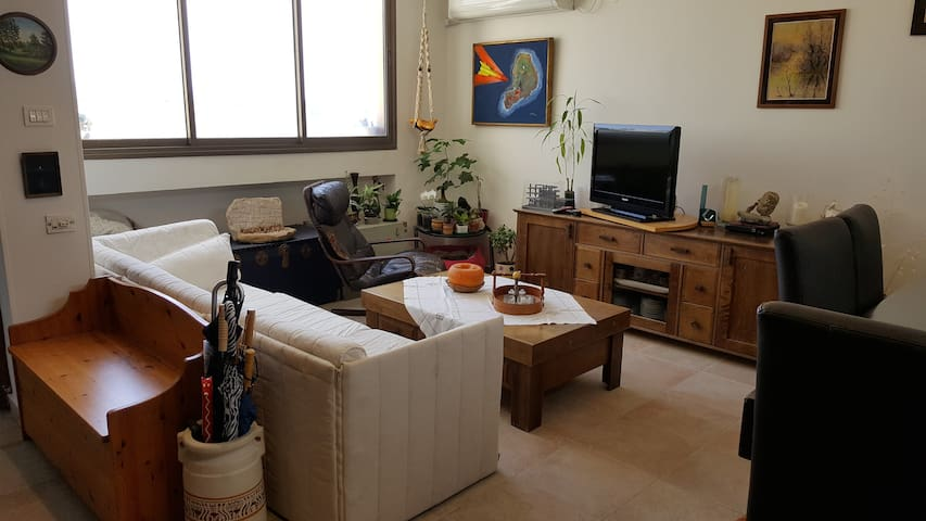 Living room in welcoming flat - Ari'el - Apartament