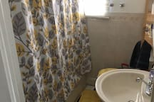 Your bathroom on the ground floor, only shared with one other housemate
