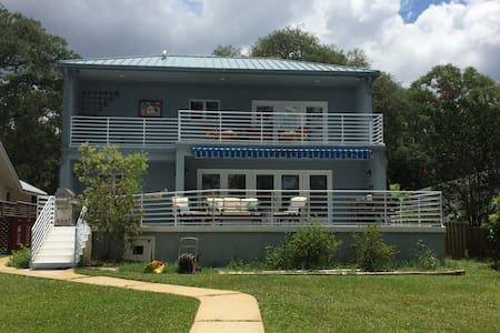 Bayou Bliss! Waterfront luxury near downtown, PCB - Rumah