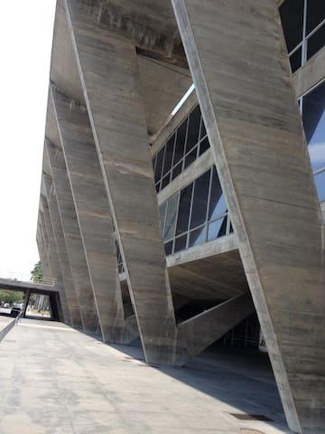 Museum of Modern Art at Flamengo Park/ Museu de Arte Moderna, no Parque do Flamengo