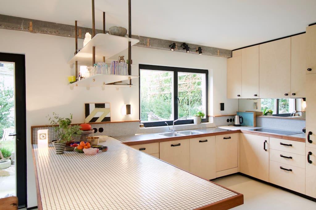 Superbe maison d architecte houses for rent in rhode saint gen se vlaanderen belgium - Maison architecte mark dziewulski ...