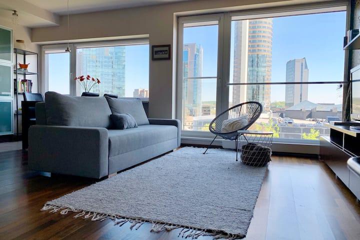 Two-floor Apartment - Skyscraper Area - GREAT VIEW