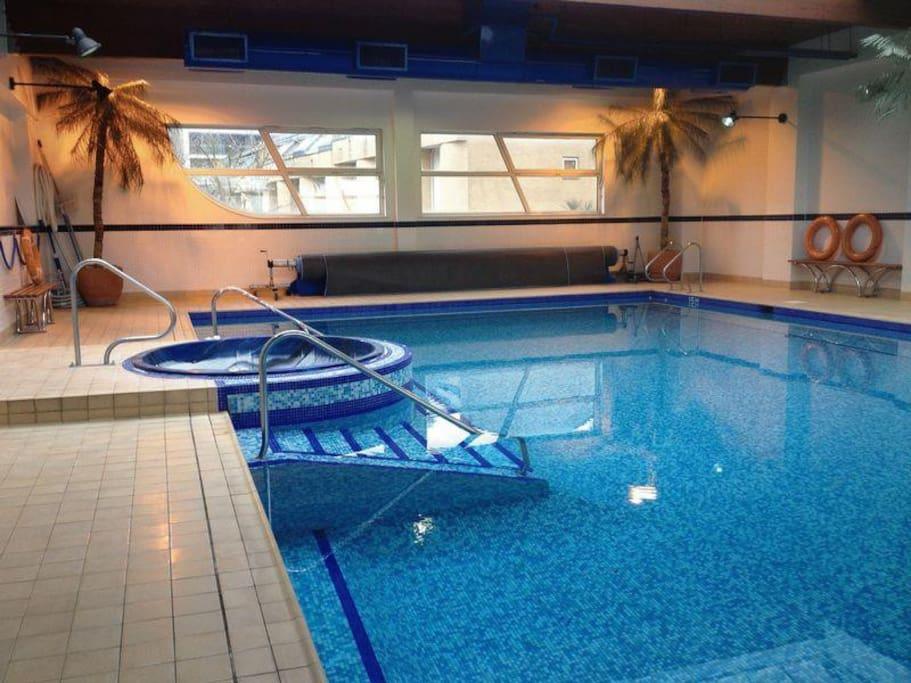 Swimming Pool and Sauna facilities