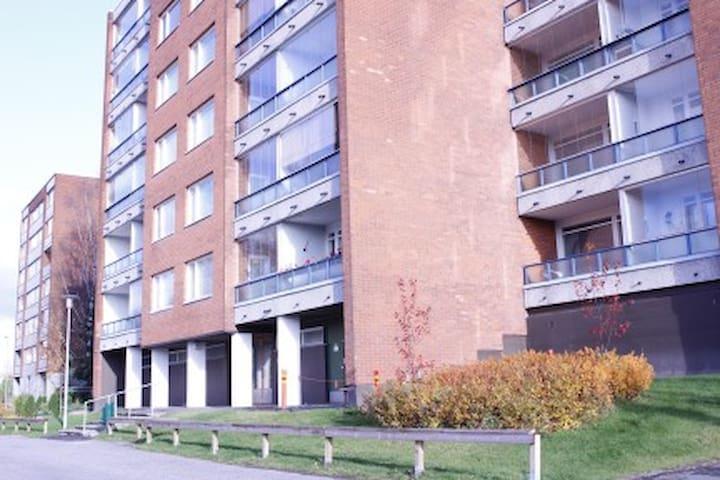 One-bedroom apartment with a balcony in Tikkurila, Vantaa - Unikkopolku 6