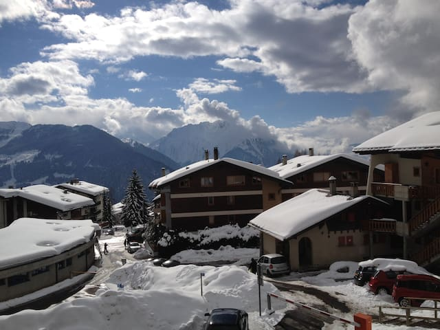 Verbier, 2 rooms, best place for ski - Bagnes - Byt