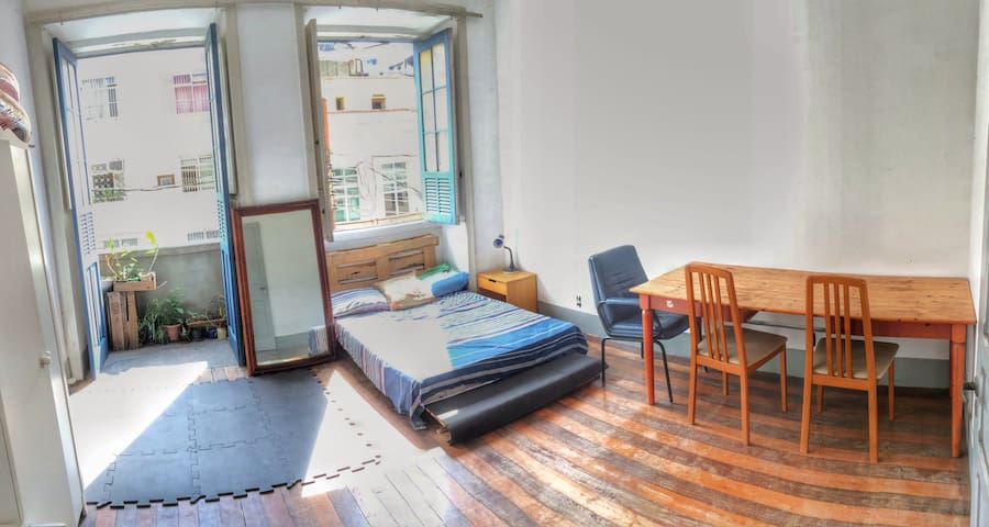 20 m ² in great location of Santa Teresa - Rio de Janeiro - Apartemen