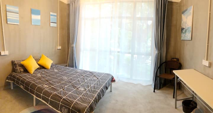 K8别墅之2层观景大窗大床房