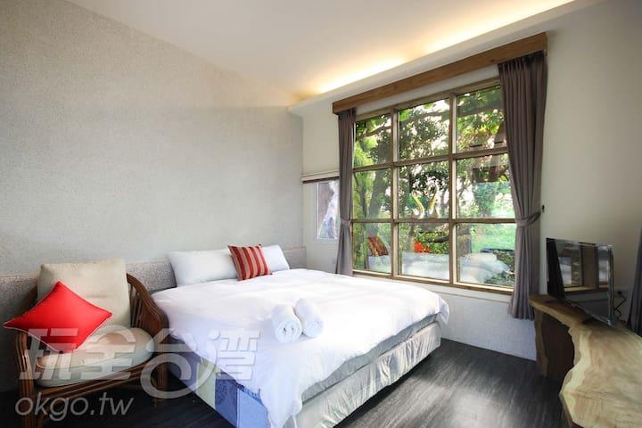墾丁-鄉下這地方雙人房A平日$1300一人 - Hengchun Township - Cabana