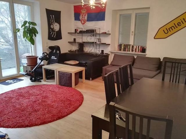 Nice Private Room with Balcony in Munich - Mnichov - Byt