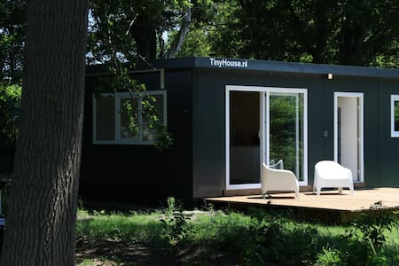 Peaceful tiny house in nature
