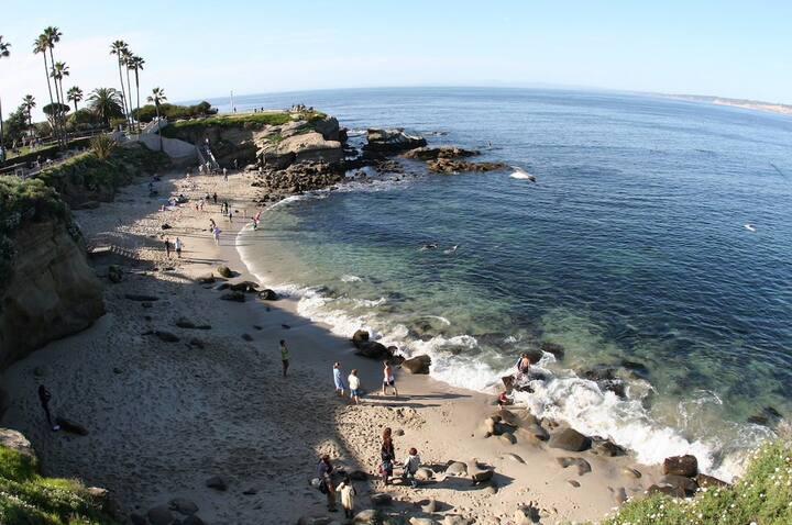 La Jolla Cove Oceanfront w/Patio