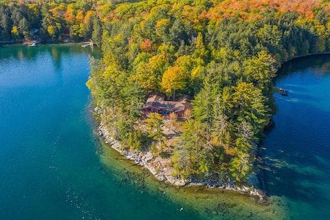 Big Basswood Lake Point