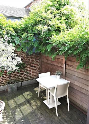 Charmant studio avec terrasse Vieux Lille