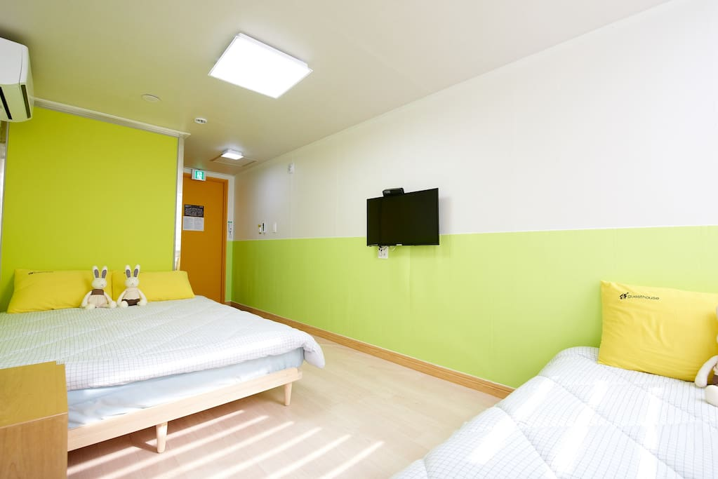 3인실 TRIPLE ROOM
