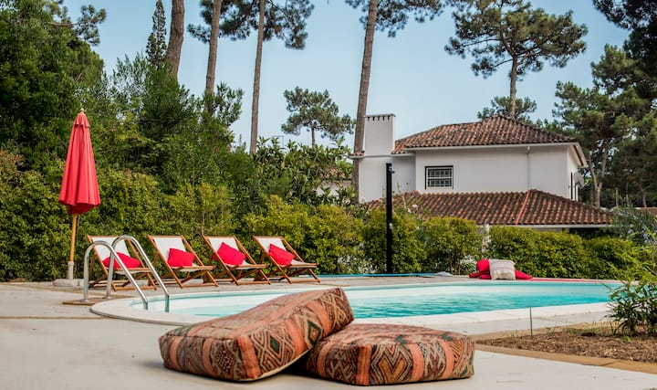 Colares Surf Pine Tree - Heated  Pool