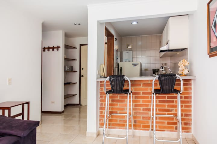 APARTMENT NORTH BOGOTÁ, COMFORTABLE AND VERY QUIET
