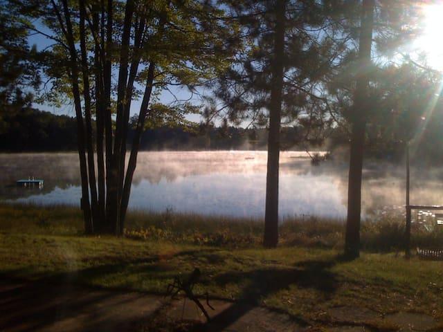 Sunny Half Moon Lake-Crivitz
