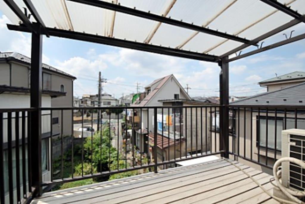 201 with a balcony
