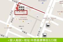 位置資訊 The information of Location