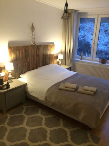B&B aan rand centrum Valkenburg en natuurgebieden - Valkenburg - Bed & Breakfast