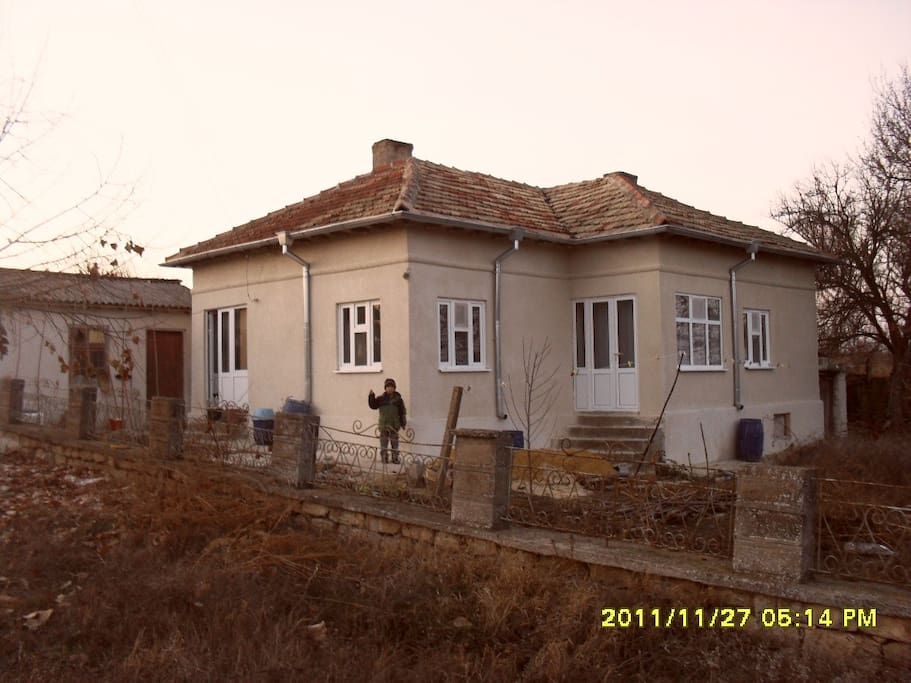Our House in Bulgaria - fully insulated, double glass, and with central heating.