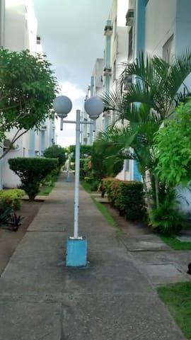 Apartamento próximo da praia e centro de convençâo