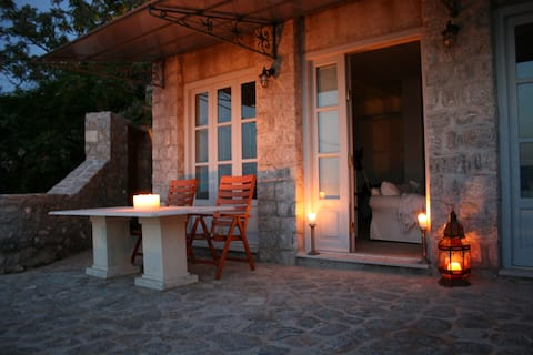 Magnificent seaview stone house
