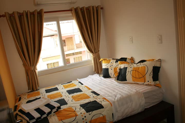 Small room with window in family hotel - Room 1