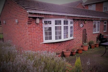 """The Hideaway"".Newborough. Staffordshire."