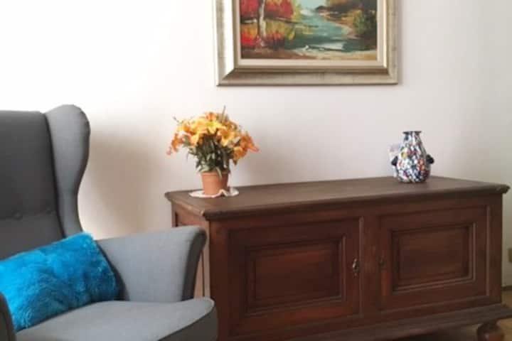 Comfortable & Characteristic Italian Apartment.