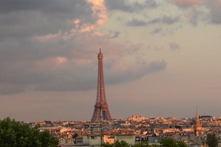 La Tour Eiffel et Paris à vos pieds - Courbevoie - Apartment