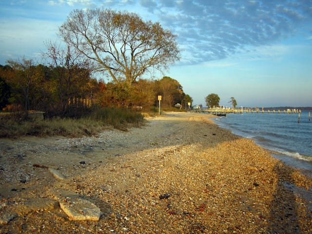 2BR.House-historic Coltons Pt., MD $1450/Mo.