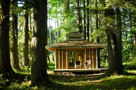 Cabin in the Woods at Tipi Village - Marcola
