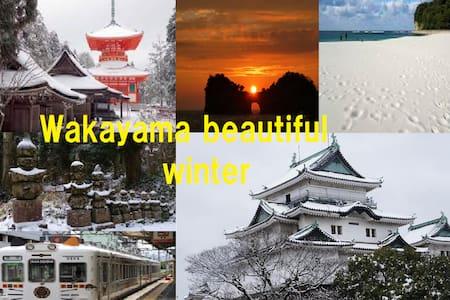 Kansai Airport - Limousine bus - walk 6 minutes! ! - wakayama-si