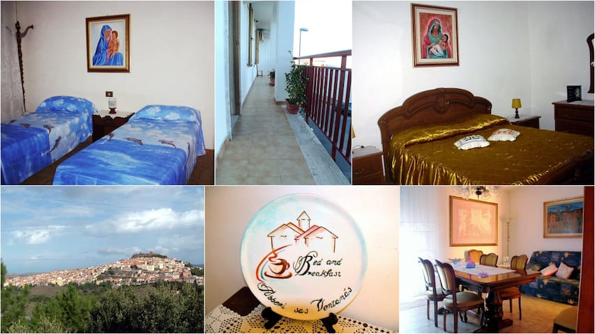 B&B AbberiSasVentànas Osilo SS - Osilo - Bed & Breakfast