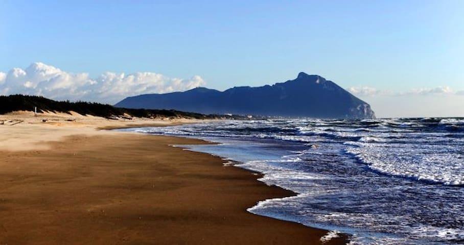 CIRCEO On Sabaudia beach near ROME