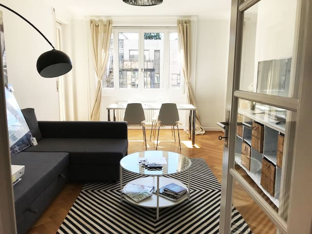 Stylish 1 BDR APT in the center. 3500CHF per month