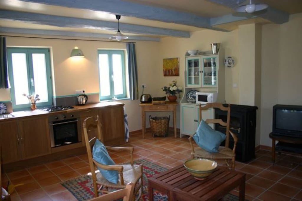 kitchen/sittingroom