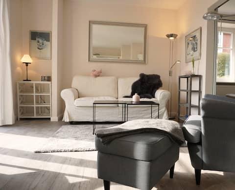 Gemütliche Wohnung mit Seeblick