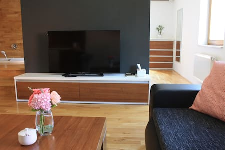 cozy apartment incl. underground garage parking - Brno - Departamento