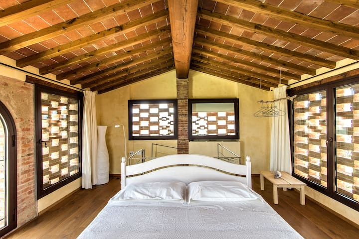 Art-Design Fienile in the heart of Tuscany - Montevarchi - Appartement