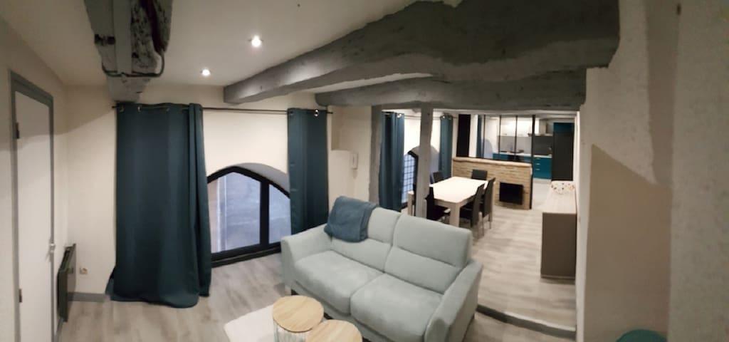 APPARTEMENT  70M² CENTRE VILLE CAHORS