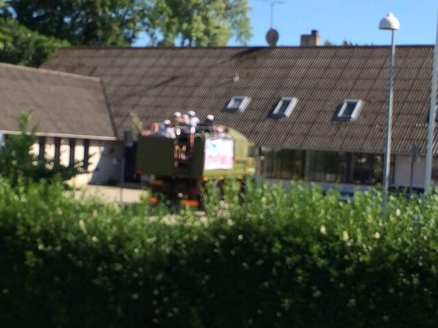 Charmerende hus - Haslev - บ้าน
