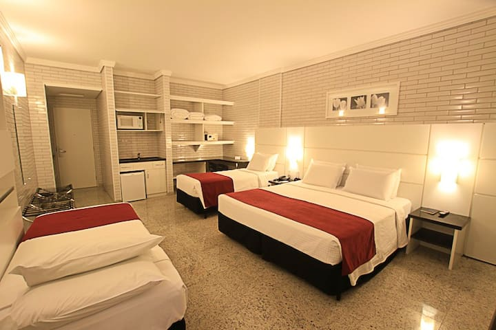 Hotel Confiance Prime Batel - STANDARD QUADRUPLO