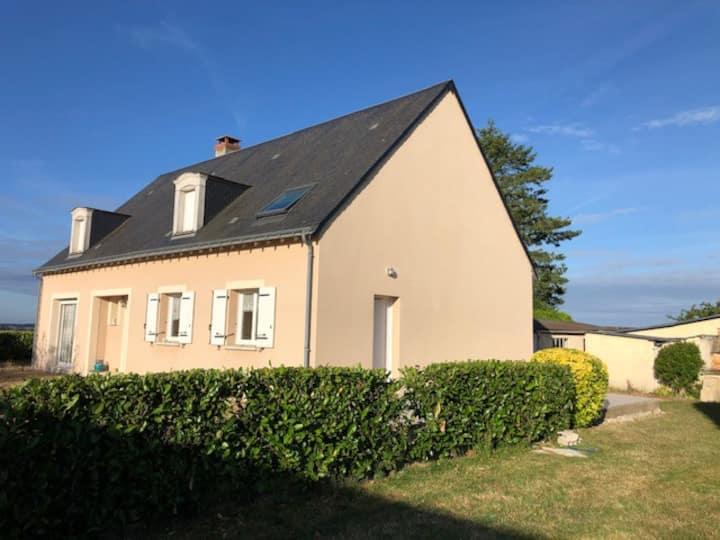 Maison vallée du Loir 8 Pers. Circuit 24h 45 km
